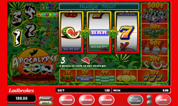 Apocalypse Cow™ Slot Machine Game to Play Free in Microgamings Online Casinos