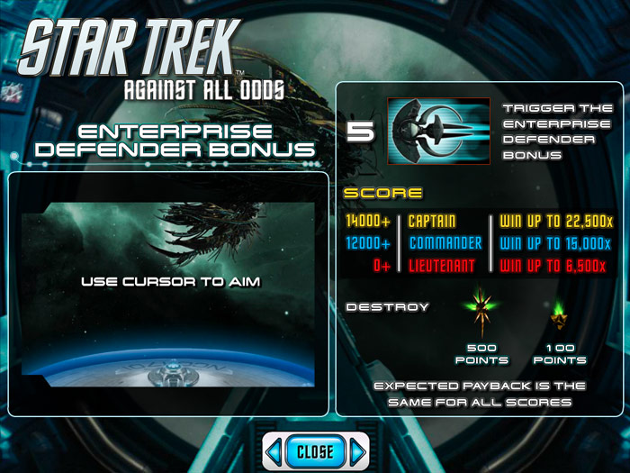 Star Trek Cash Prize