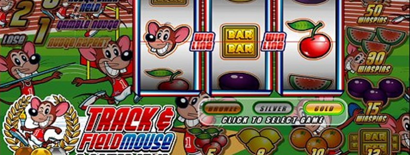 Track & Field Mouse Slots - Free to Play Demo Version