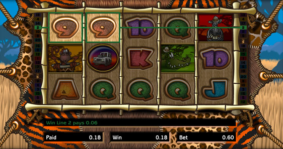 Wild Safari Fruit Machine