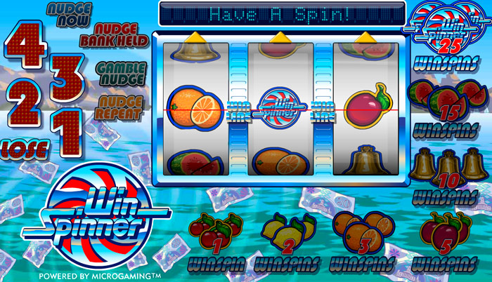 Win Spinner Pub Fruit Machine