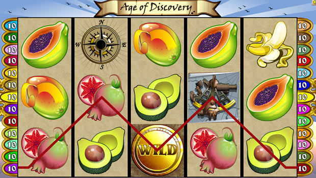 Age of Discovery slot - discover new wins at Casumo