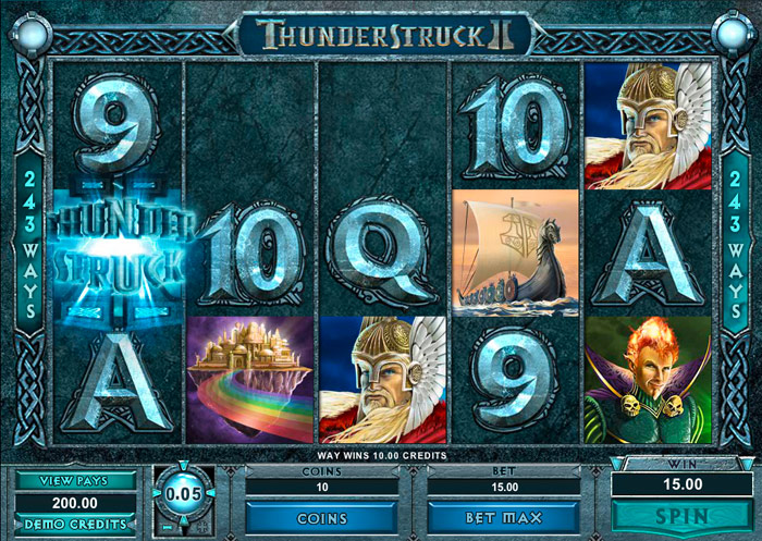 thunderstruck Free Spins Weekend